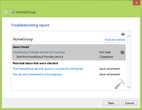 homegroup windows 10 update